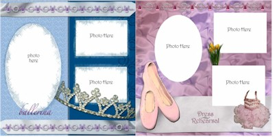Ballet Digital Kit Quick Pages