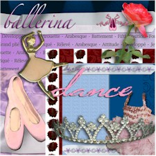 Ballet Digital Scrapbook Kit